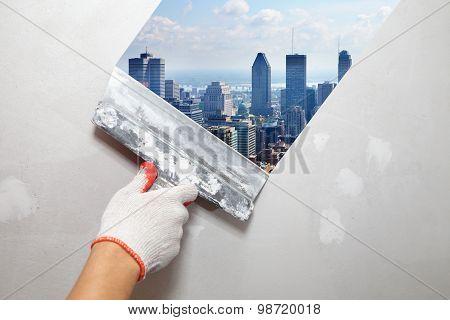 Contractor Plasterer.