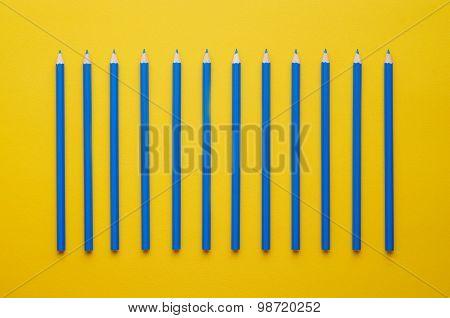 Blue Crayons