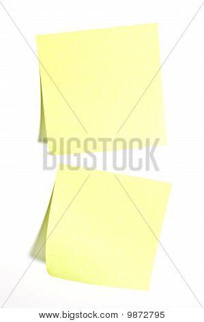 Sticky Paper Notes