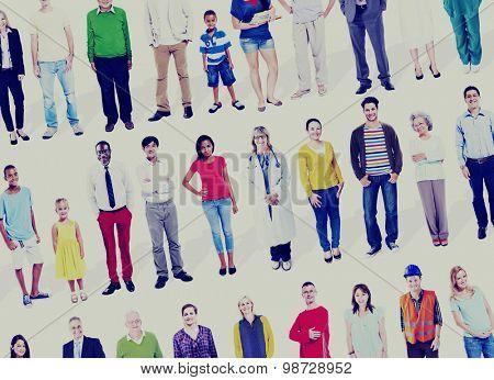 Diversity Ethnicity Variation Togetherness Team Concept
