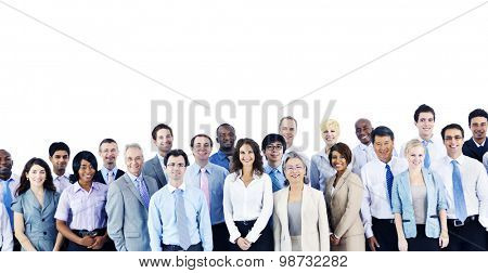 Multiethnic Group Business People Standing Concept