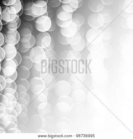 white bubble background