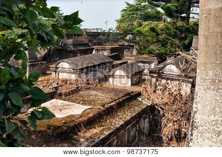 Dutch Cemetery In Fort Kochi