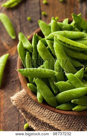 Organic Green Sugar Snap Peas