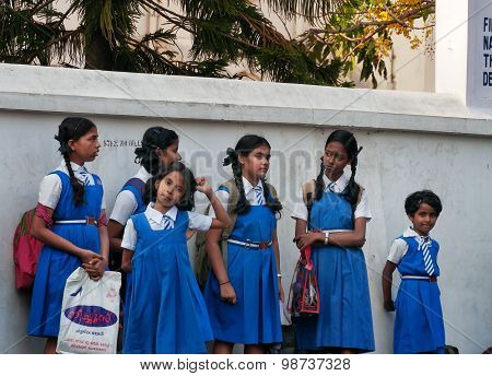 Indian Young Schoolgirls