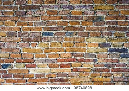 brick wall background ant texture