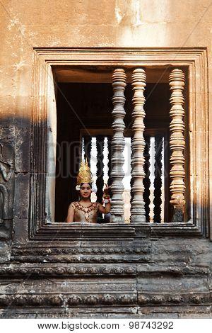 Cambodian Dancer, Angkor Wat