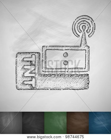 radio communication icon