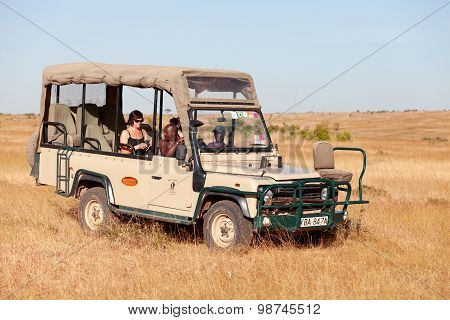 Safari Car, Africa