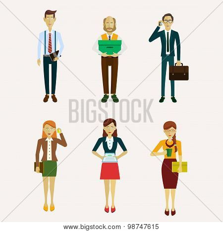 Vector for business people