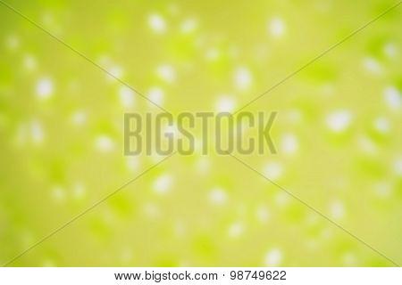 Blurred Green Steel Flowerpot Texture Background