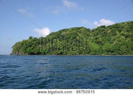 Landscape in Honduras