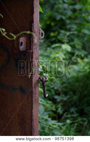 Iron door To The Summer