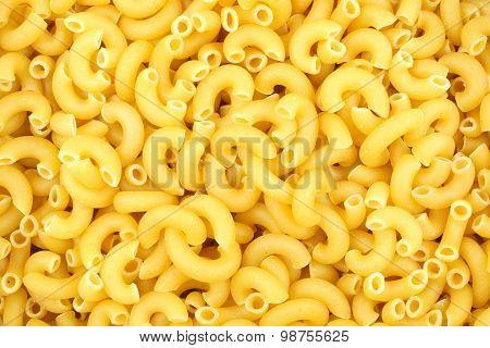 Macaroni pasta background