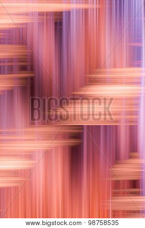 Abstract of Colorful Streaks