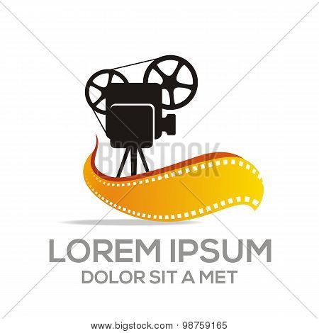 Logo Movie Video Cinema Illustration