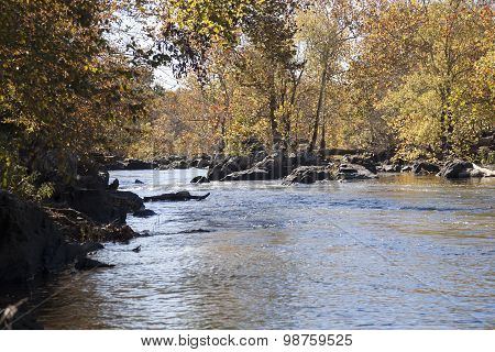 Potomac River In The Autumn