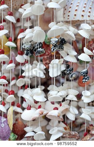 Handicrafts Produced By The Shell Wall