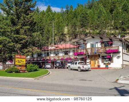 town of Radium Hot Springs