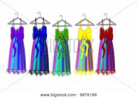 Ball Gown Vector