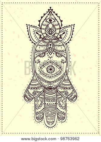 Ornament beautiful card