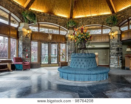 Interior of the Banff Springs Hotel