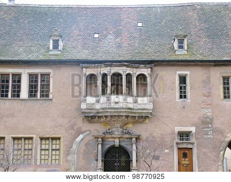 A French historical building in Colmar