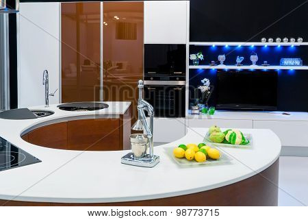 Stylish Modern Kitchen, Beautiful Interior