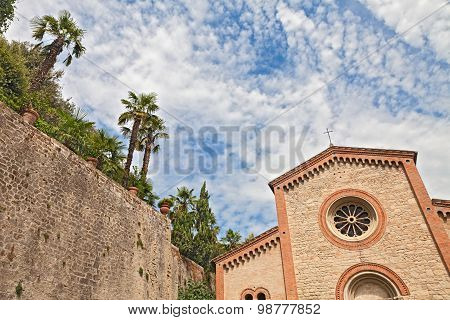 Ancient Catholics Church In Castrocaro Terme, Italy