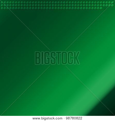green Embossing Metallic Circle Background