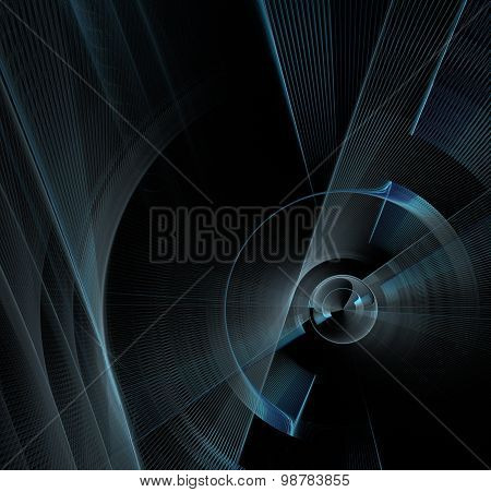 Abstract Black Camera Ackground