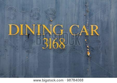 Dining Car 3168