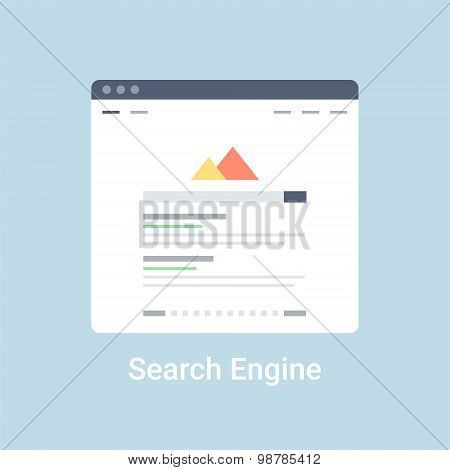 Search Engine Wireframe