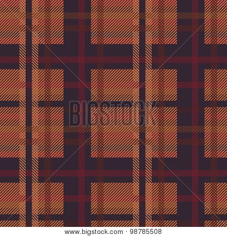 Vector Tartan Pattern Background