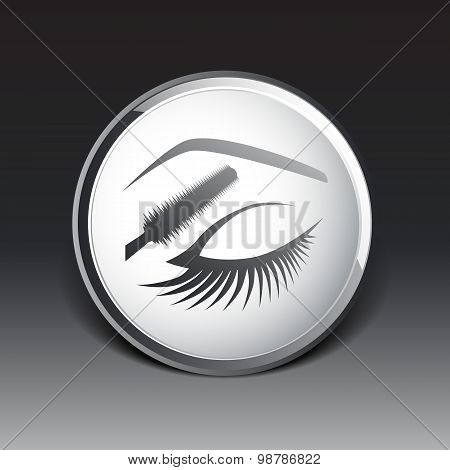 eye closeup mascara model female fashion girl look