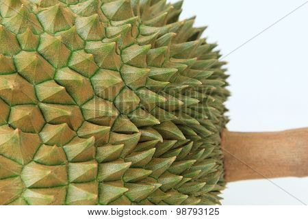 Thorns Of Durian Fruit
