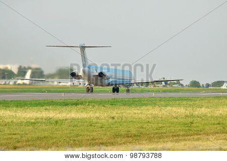 Passenger Plane Takeoff