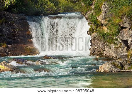 Waterfall - Adamello Trento Italy