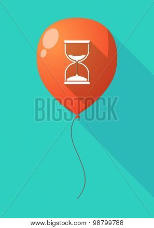 Long Shadow Balloon With A Sand Clock