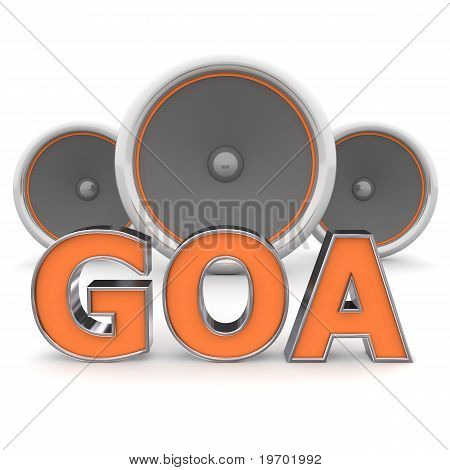 Speakers Goa – Orange