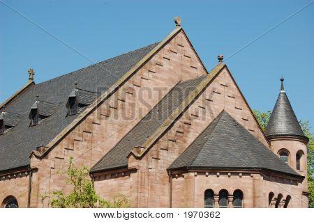 Weilbach Church Close-Up