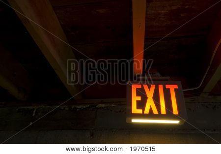 Exit From Dark Cellar