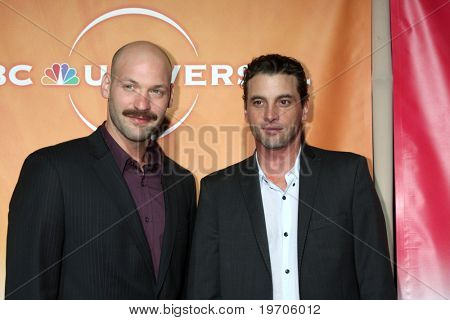 LOS ANGELES - JUL 30:  Corey Stoll & Skeet Ulrich arrive at the 2010 NBC Summer Press Tour Party at Beverly Hilton Hotel on July 30, 2010 in Beverly Hills, CA...