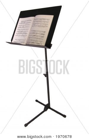 Music Stand With Book