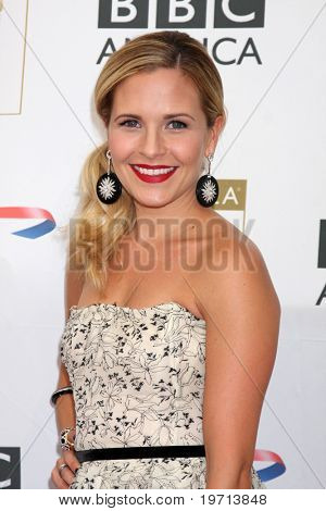 LOS ANGELES - AUG 27:  Sally Pressman arrives at the 2010 BAFTA Emmy Tea at Century Plaza Hotel on August 27, 2010 in Century City, CA