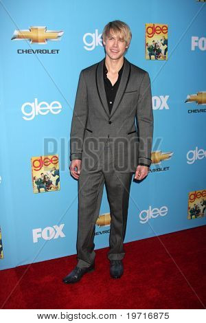 LOS ANGELES - SEP 7:  Chord Overstreet arrives at the GLEE Premiere Screening & Party - Season 2 at Paramount Studios  on September 7, 2010 in Los Angeles, CA
