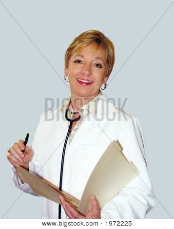 Friendly Woman Healthcare Practitioner