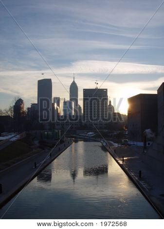 Winter Morning In Indy
