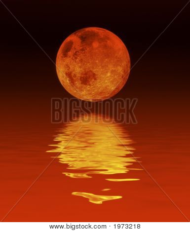 Moon And Water