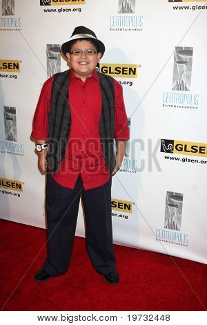 LOS ANGELES - OCT 8:  Rico Rodriguez arrives at the Gay, Lesbian and Straight Education Network  Respect Awards at Beverly Hills Hotel Theatre on October 8, 2010 in Beverly Hills, CA